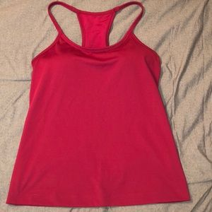 Athleta built in bra tank top